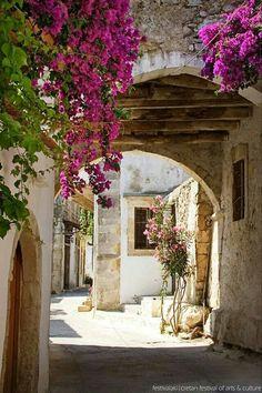 Agios Konstandinos village,  Rethymnon, Crete, Greece