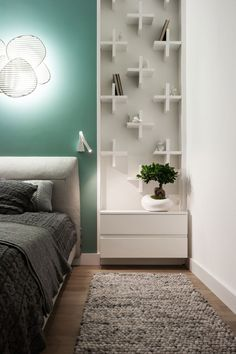 Apartment in Ukraine by SVOYA Studio (17)  great different idea. Like an artwork