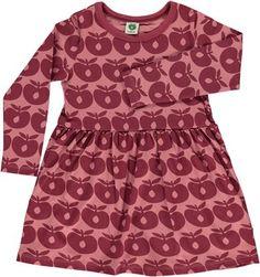 Kjole med æbler