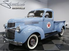 At first we won't even mention the historical significance of this 1946 Chevrolet 3100 truck. Chevrolet 3100, Chevrolet Trucks, American Pickup Trucks, Pickups For Sale, American Classic Cars, Texaco, Gm Trucks, Chevy Pickups, Vintage Trucks