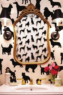 Fun Powder Room!