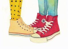 CULT CLASSIC - cute as ever: Converse!