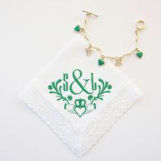 Irish Claddagh design for St. Patrick's Day.