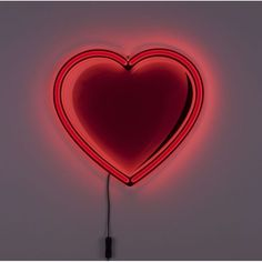 Neon Heart Sign Light Up Wall Signage Made Red Retro Pop Art Designed Bar Fancy, Lampe Applique, Style Rustique, Style Rock, Pop Art Design, Sign Lighting, Lighting Design, Led Signs, Retro Pop