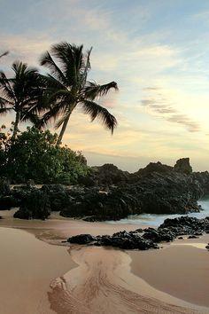 Edge Of The Sea - Paako Beach, Maui, Hawaii