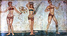 Le donne erano solite depilarsi gambe e ascelle. Negli uomini la depilazione era considerata effemminata, ma era comunque praticata da molti (alle terme c'erano degli schiavi dedicati). Per depilarsi si usavano pinzette oppure si applicava una crema depilatoria. Questa consisteva per lo più di una pasta realizzata sciogliendo in olio una resina e ne sfruttava l'effetto colloso. Scopri questo e altro alla nostra serata: //APERITIVO STORICO: MILANO CAPITALE DELL'IMPERO// #milanosuldivano