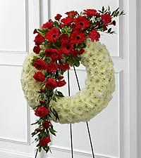 we do all wreaths for your loved ones we do all in real or silk flowers we can post out or deliver if locations areas near thanks