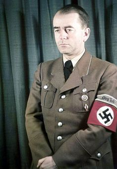 Reichsminister Albert Speer (19 March 1905 - 1 September 1981) photographed by Walter Frentz in 1942