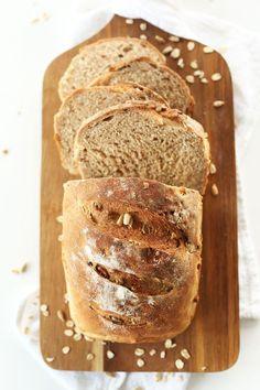 SIMPLE Whole Grain Seedy Vegan Bread | Vegan | Vegan Baking | Vegan Bread Recipes | Healthy Homemade Bread | Healthy Bread Recipes.