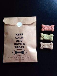 Custom Small Business Gift Bags, Favors for grooming Shops, Doggie or Pet Birthday party, on Etsy, $20.00