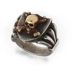 Skull & Crossbones Signet Ring