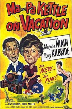 "Got the whole ""Ma & Pa Kettle"" collection on DVD. Looking forward to sharing them with my boys."