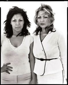Annette Gonzales, Housewife, and Her Sister Lydia Ranck, Secretary, Santuario de Chimayo, New Mexico, Easter Sunday, April 6, 1980 | Portfolio: In The American West | PORTRAITS | Archive