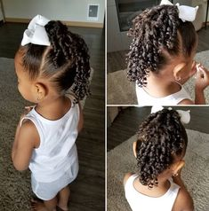 hairstyles for mixed girls kids & hairstyles mixed girls hair Black Baby Girl Hairstyles, Mixed Baby Hairstyles, Cute Toddler Hairstyles, Kids Curly Hairstyles, Little Girls Natural Hairstyles, Perm Hairstyles, Children Hairstyles, Girl Hair Dos, Kid Hair
