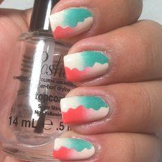 Instagram photo by 365daysofcolor #nail #nails #nailart