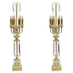 A Pair Of French Empire Table Lamps