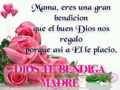 Imagenes+De+Rosas+Con+Mensajes+Para+Mama+En+Su+Dia Happy Mother S Day, Blessed Mother, Mother Mary, Fitness Workout For Women, Free To Use Images, I Love Mom, Mothers Day Cards, Birthday Greetings, Mariana