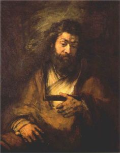 The Apostle Simon - Rembrandt