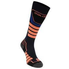 View the full range of ski and snowboarding accessories on our website, including the Salomon X Pro Socks- available to order today! Ski Socks, Mens Skis, Bleu Marine, Online Purchase, Stretch Fabric, Skiing, Fashion Accessories, Footwear, Navy