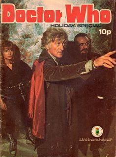 doctor who holiday special 1973 Classic Series, Classic Tv, Dr Who Companions, British Broadcasting Corporation, Ninth Doctor, Doctor Who Dalek, Jon Pertwee, Classic Doctor Who, Rory Williams