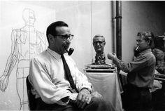 Atelier Robert Doisneau | Site officiel // Georges Simenon au Musée Grévin4 septembre 1962