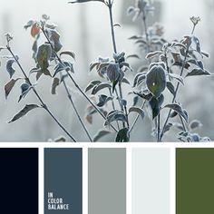 болотный, зеленовато-серый, зеленый, палитра для зимы 2016, подбор цвета для гостиной, светло серый, серебряный, серо-синий, серый, синий, темно-синий, цвет зелени, цвет чирок, цвета зимы, цветовое решение.