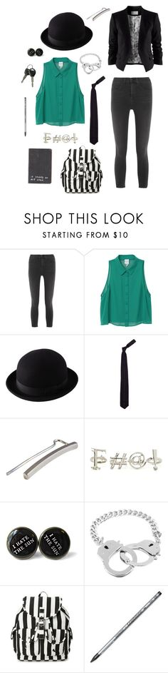 """That girl is an enigma"" by rebellious-ingenue ❤ liked on Polyvore featuring rag & bone, Monki, Uniqlo, Italia Independent, Mei-Li Rose, Bee Charming and Forever 21"