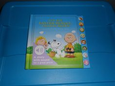 It's the Easter Beagle, Charlie Brown Interactive Book With Sound, Hardcover