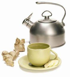 Delicious Homemade Ginger Tea