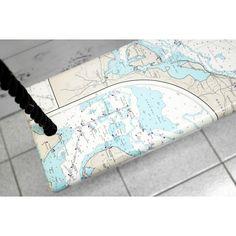 Swing, sea map