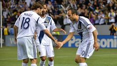 Both Marcelo Sarvas and Landon Donovan scored their first goals of the 2013 season and the Galaxy broke a 545-minute Sporting KC shutout streak in a 2-0 win on April 20 at The Home Depot Center