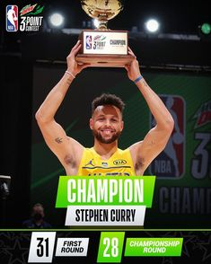 """NBA on Instagram: """"🏆 #MtnDew3PT champion for the 2nd time... @stephencurry30! $250K was raised for @directrelief's Fund for Health Equity. #NBAAllStar"""" Stephen Curry Basketball, Nba Basketball, Golden State Warriors Wallpaper, Golden State Warriors Basketball, Jack Grealish, Splash Brothers, One Championship, Human Torch, Nba Players"""