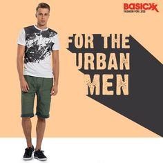 Mens' fashion comes to life with these graphic tees at Basicxx. Buy them here.  #Basicxx #BasicxxOnline #BasicxxMen #Riyadh #Dhahran #Jeddah #InspirationFulfilled