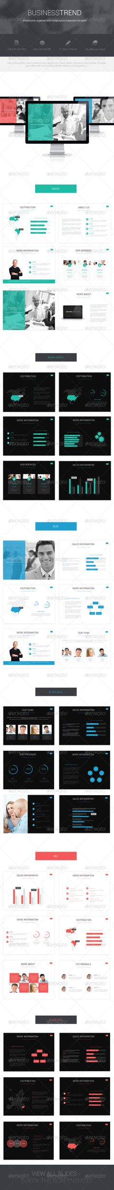 Business Trend Powerpoint Template