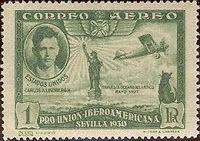 Charles Lindbergh and Patsy who accompanied him on flights.  ~Repinned Via Dona Deam
