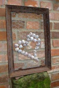 schneckenhäuser als gartendeko / snail shells become garden, Terrassen ideen