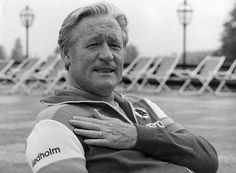 Nils Liedholm (AS Roma, 1973-1977, 1979-1984, 1987-1989, 1997) in the 80s, as manager of AS Roma.