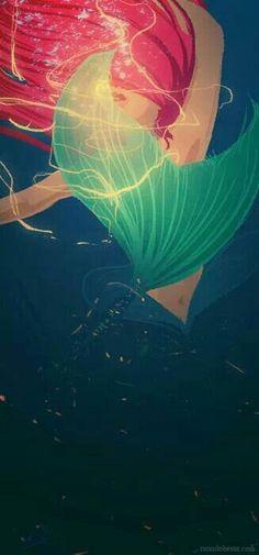 Beautiful Ariel Fan art.