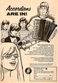 Flip your audience with swinging chords and sound excitement with an accordion!