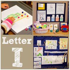 Home #Preschool Letter I