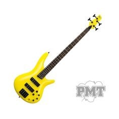 Ibanez SR300B Bass Guitar Yellow With Black Hardware ❤ liked on Polyvore featuring instruments and guitars