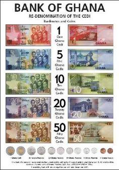 New Ghana Currency