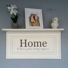 White shelf from cabinet door