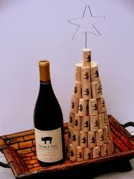 My apartment isn't big enough for a regular tree, maybe I'll do this instead. Who wants to help me get corks? ;)