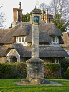 Blaise Hamlet is a hamlet in north west Bristol, England, composed of a group of nine small cottages around a green. They were built around 1811 for retired employees of Quaker banker and philanthropist John Scandrett Harford, who owned Blaise Castle House.