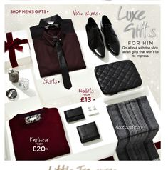 Luxe gifts- mens