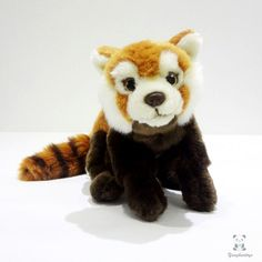 23.45$  Watch here - http://alit8k.shopchina.info/go.php?t=32798391150 - Children's Toys  Gifts Plush Red Panda Doll Stuffed  Animal Toy Simulation Wild  #aliexpresschina