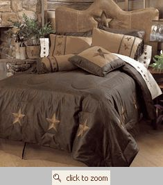 texas star bedding - don't judge me, I'm from Oklahoma.... Southwestern themed decor is what I grew up with