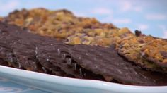 Make this florentines recipe featured in the Biscuits episode of The Great British Baking Show. Get the recipe at PBS Food.