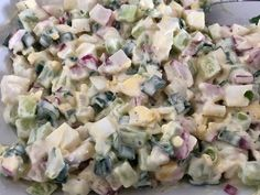 Pyszna sałatka do grilla! - Blog z apetytem Tortellini, Quinoa, Feta, Salad Recipes, Potato Salad, Catering, Grilling, Salads, Food And Drink